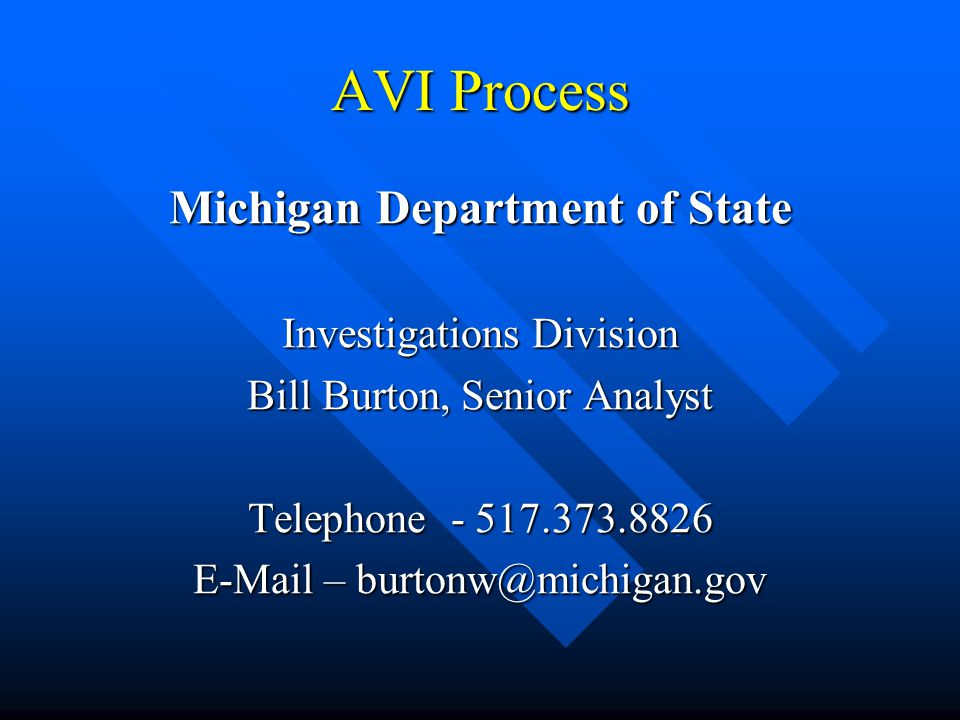 Michigan Department of State