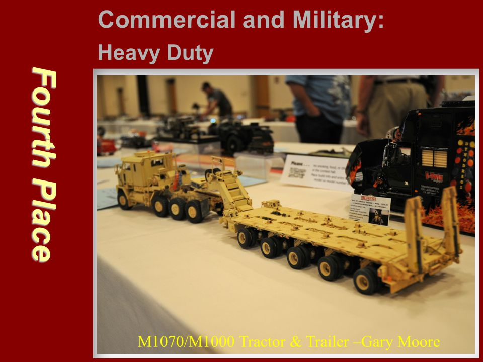 Fourth Place Commercial and Military: Heavy Duty