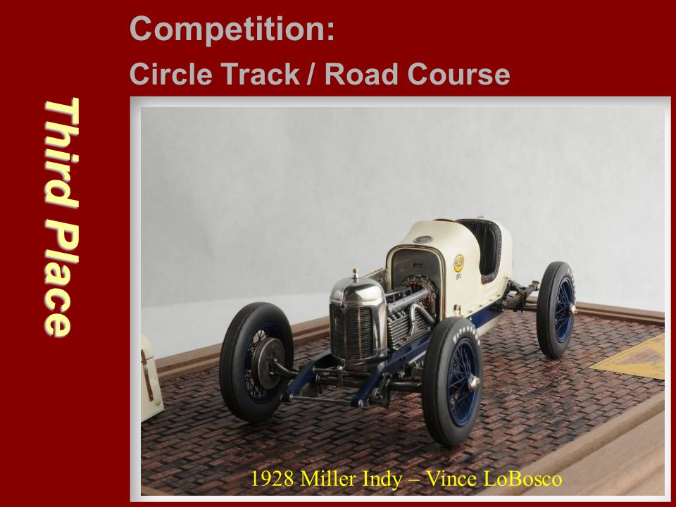 Third Place Competition: Circle Track / Road Course