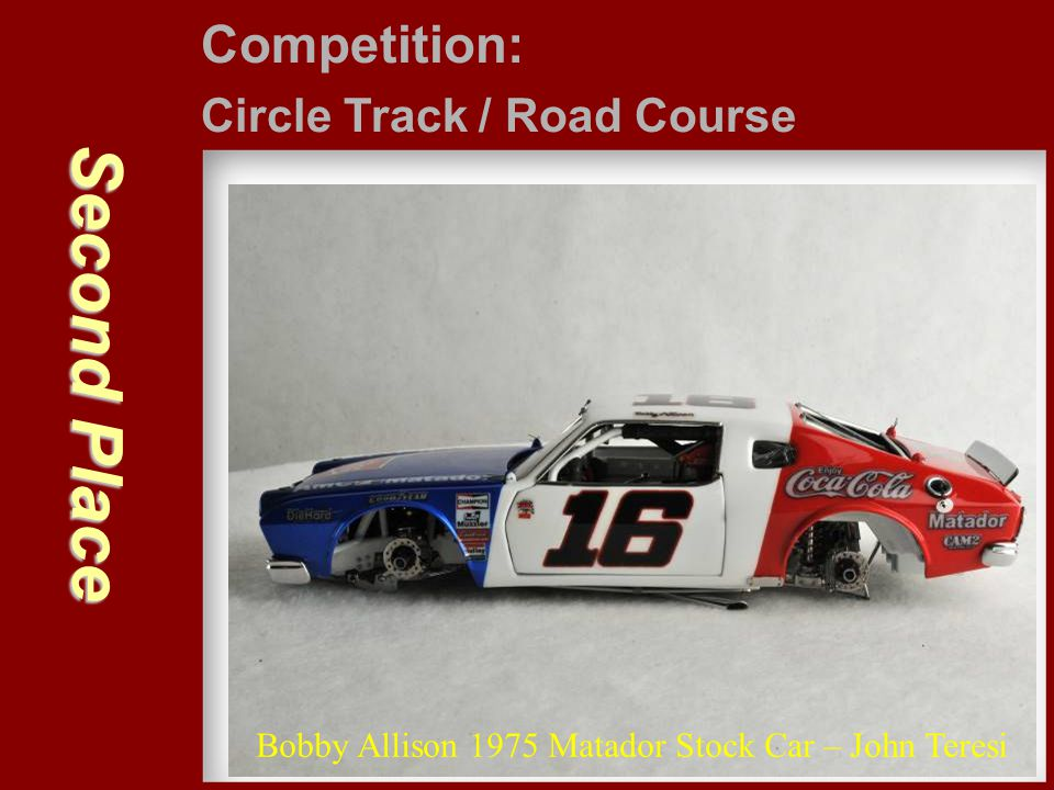 Second Place Competition: Circle Track / Road Course
