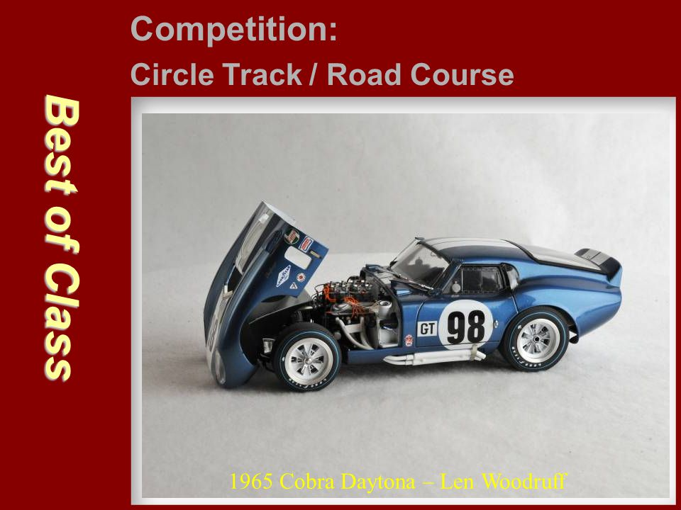 Best of Class Competition: Circle Track / Road Course