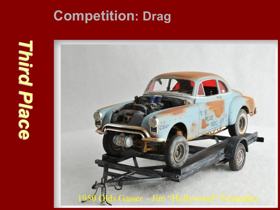 Third Place Competition: Drag