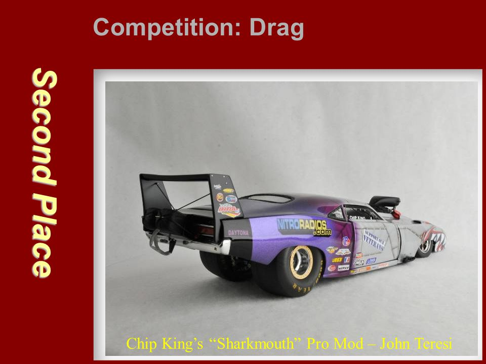 Second Place Competition: Drag