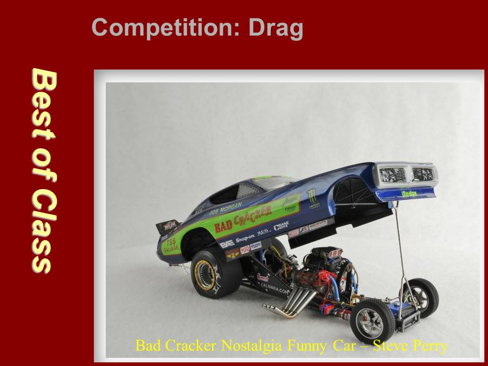 Best of Class Competition: Drag