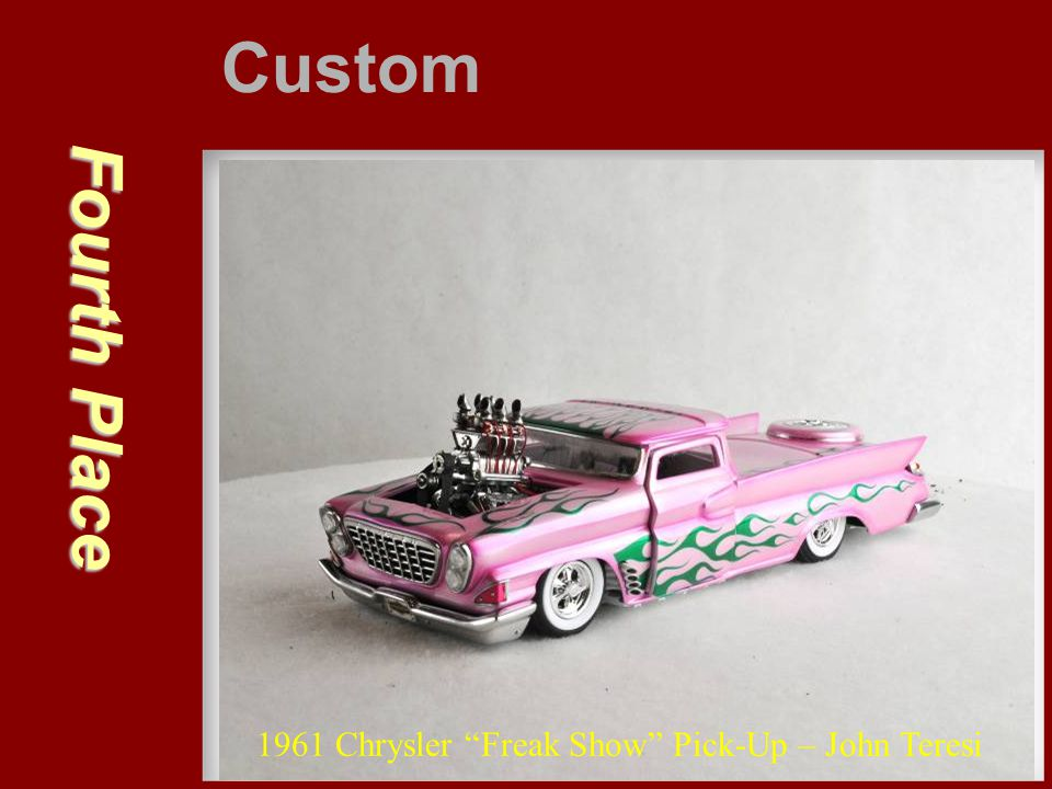 Custom Fourth Place 1961 Chrysler Freak Show Pick-Up – John Teresi