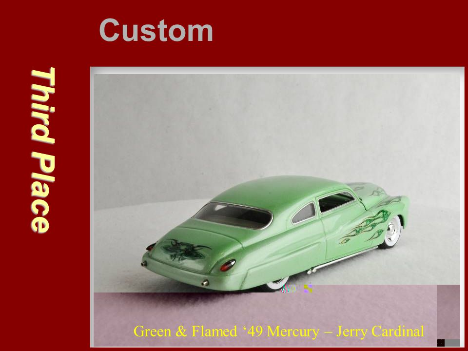 Custom Third Place Green & Flamed '49 Mercury – Jerry Cardinal