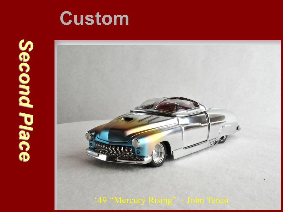 Custom Second Place '49 Mercury Rising – John Teresi