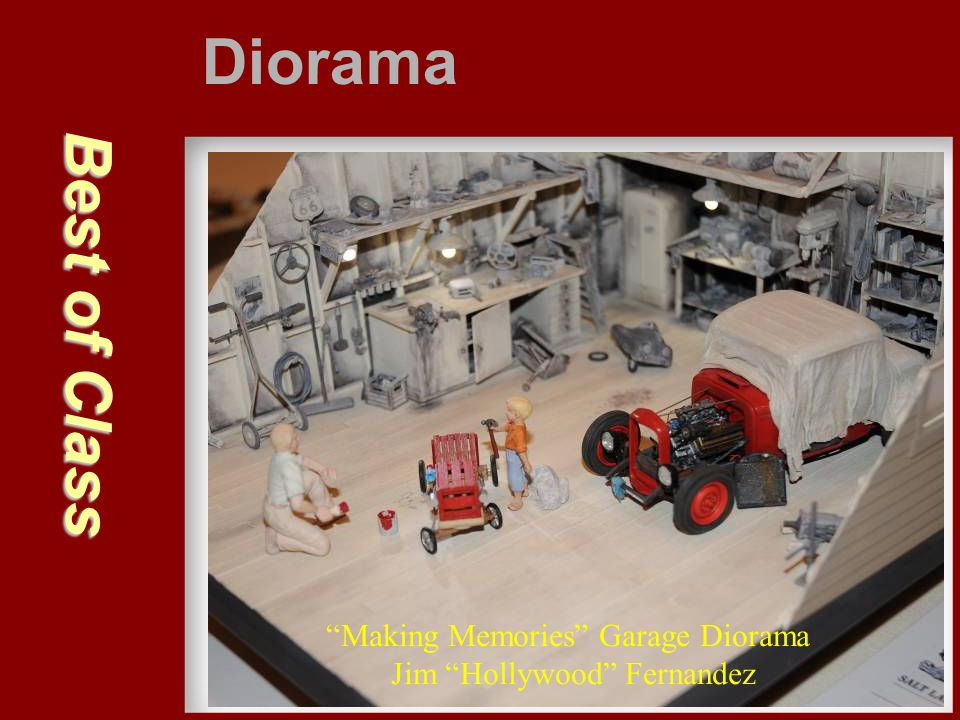 Diorama Best of Class Making Memories Garage Diorama