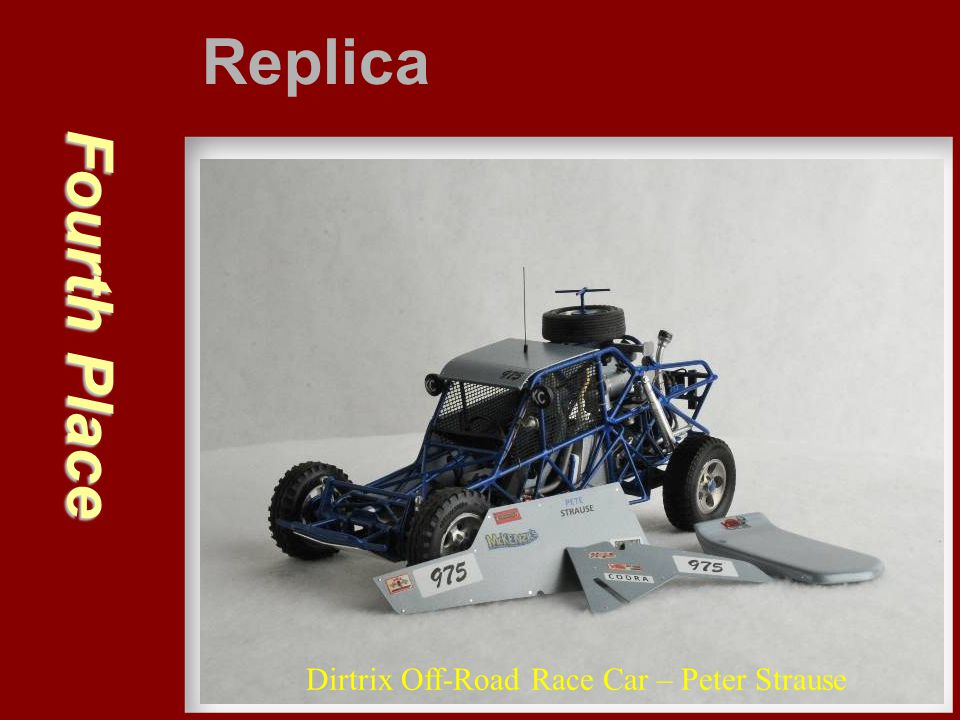 Replica Fourth Place Dirtrix Off-Road Race Car – Peter Strause