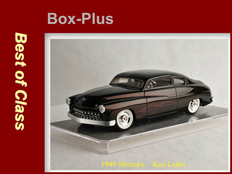 Box-Plus Best of Class 1949 Mercury – Ken Leslie