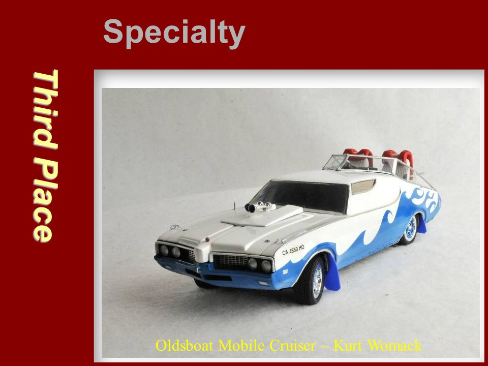 Specialty Third Place Oldsboat Mobile Cruiser – Kurt Womack