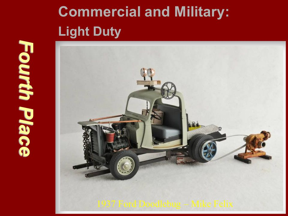 Fourth Place Commercial and Military: Light Duty