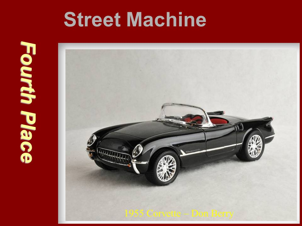 Street Machine Fourth Place 1955 Corvette – Don Berry