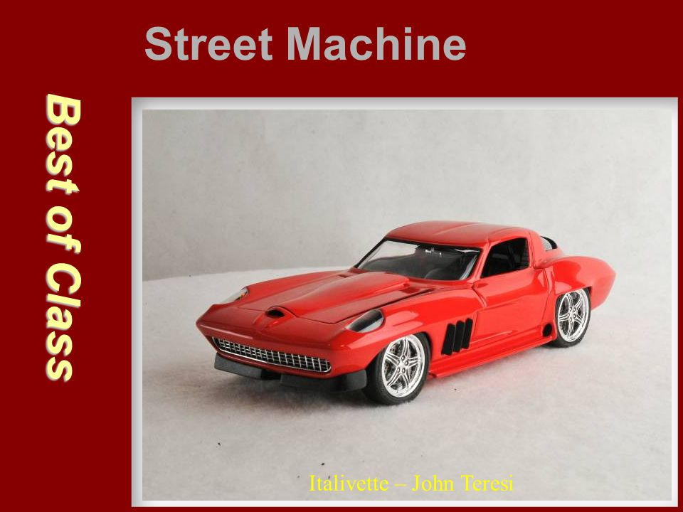Street Machine Best of Class Italivette – John Teresi