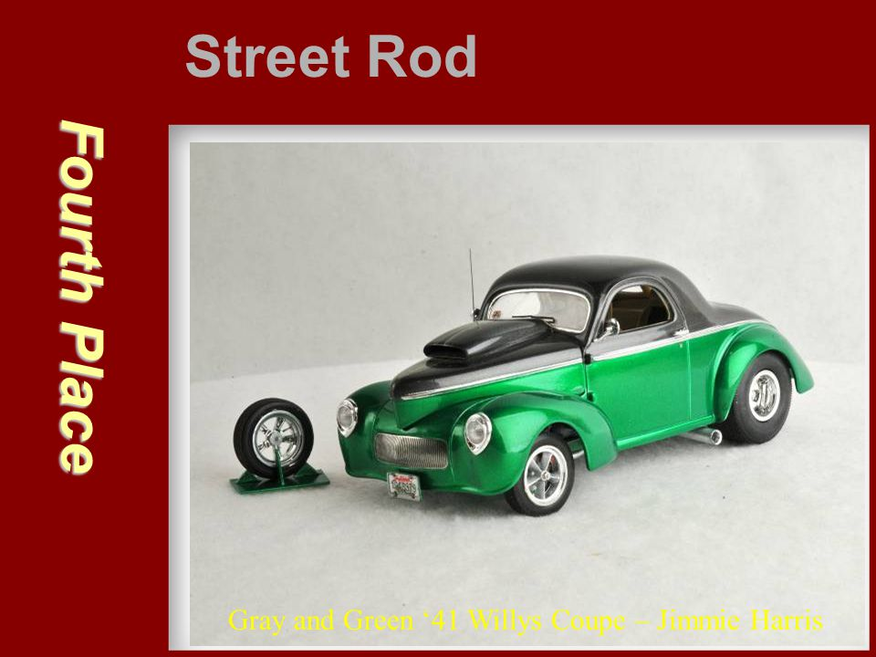 Street Rod Fourth Place