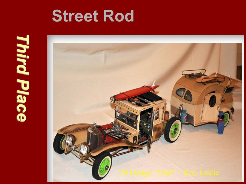 Street Rod Third Place '24 Dodge Dud – Ken Leslie