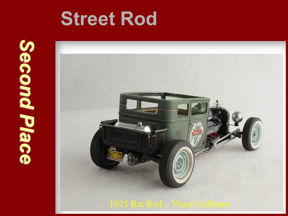 Street Rod Second Place 1925 Rat Rod – Vince LoBosco