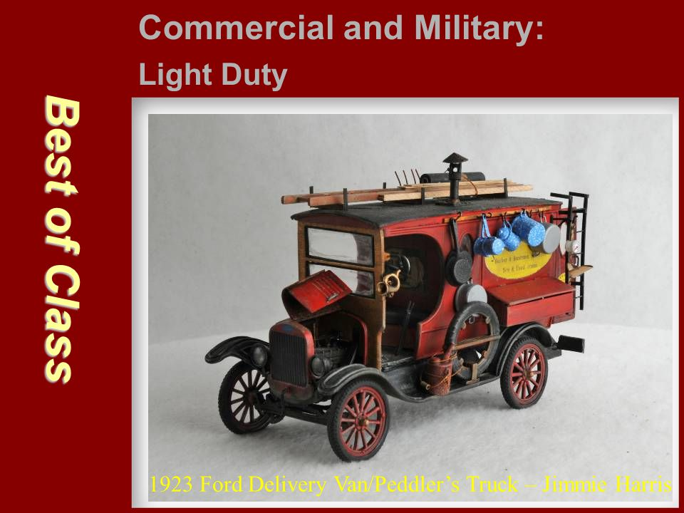Best of Class Commercial and Military: Light Duty