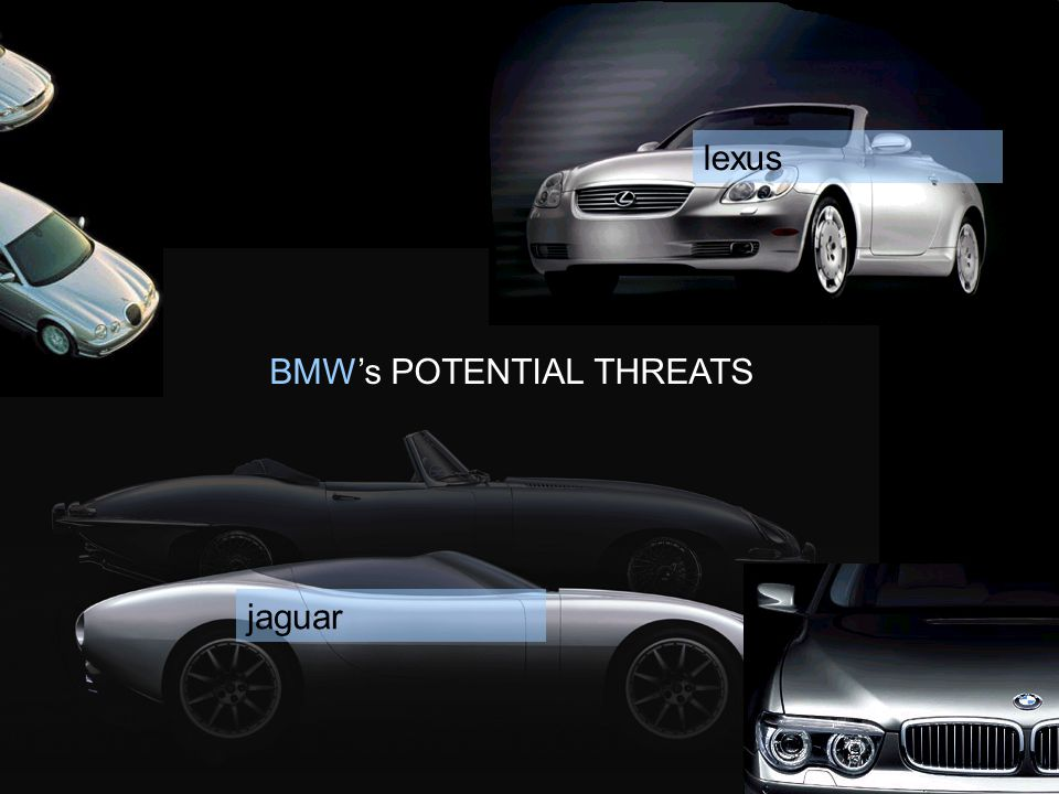 lexus BMW's POTENTIAL THREATS jaguar