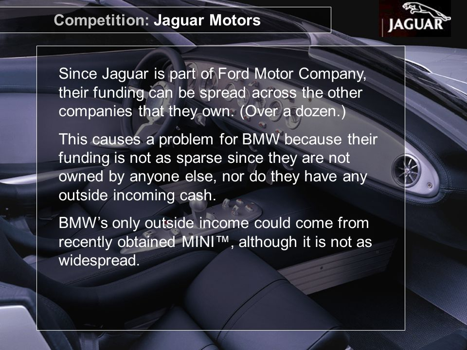 Competition: Jaguar Motors