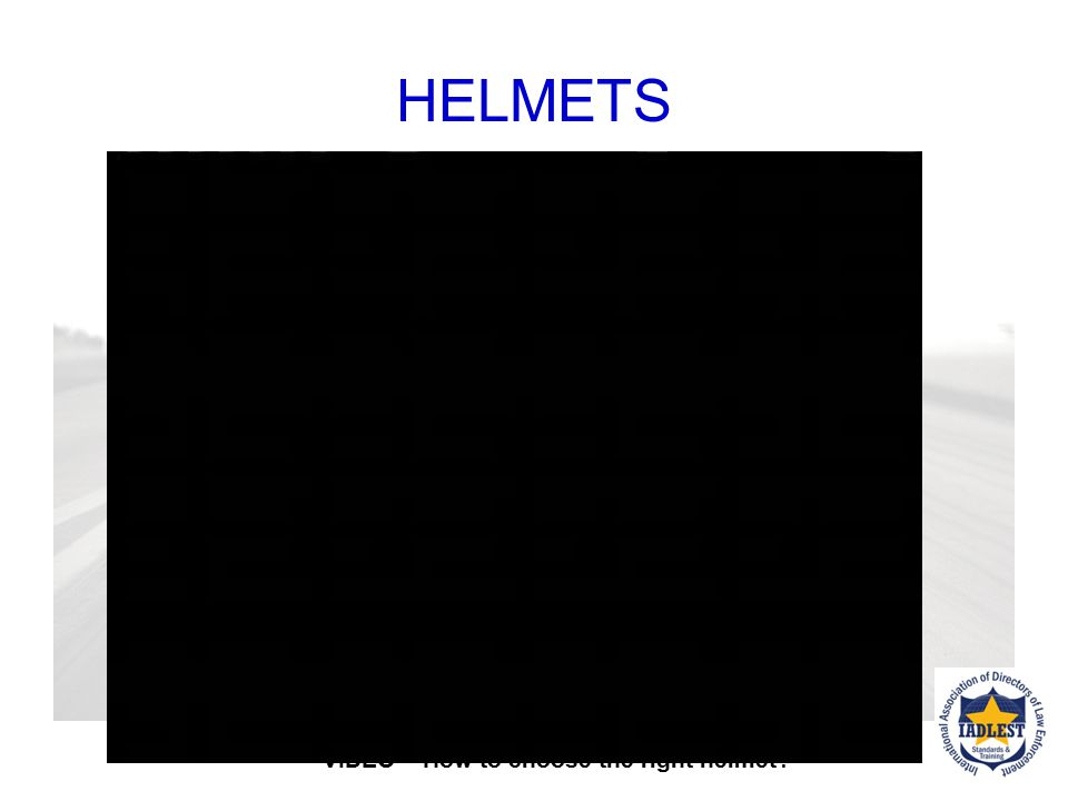 HELMETS VIDEO – How to choose the right helmet