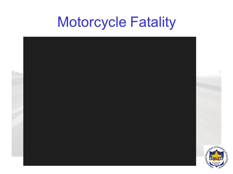 Motorcycle Fatality Optional video produced by the US Army on motorcycle