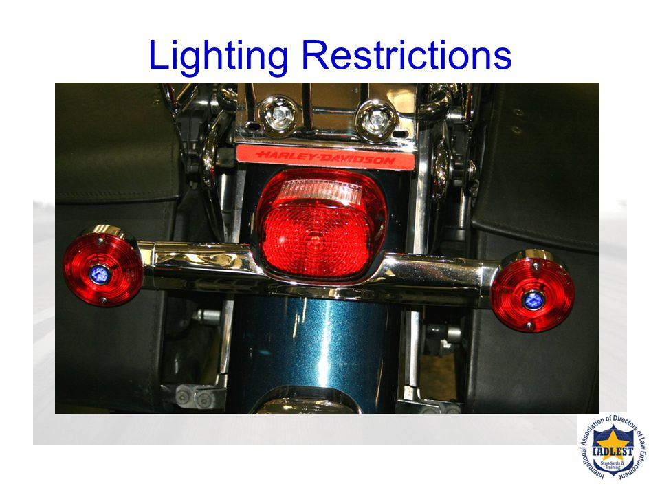Lighting Restrictions