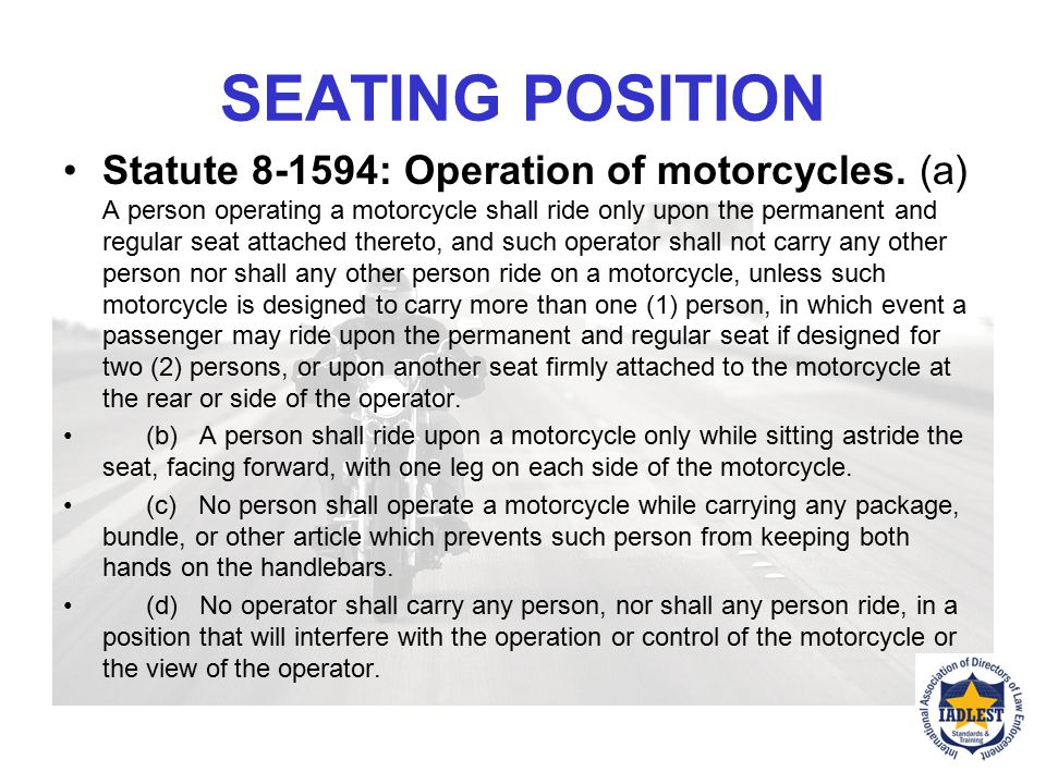 SEATING POSITION