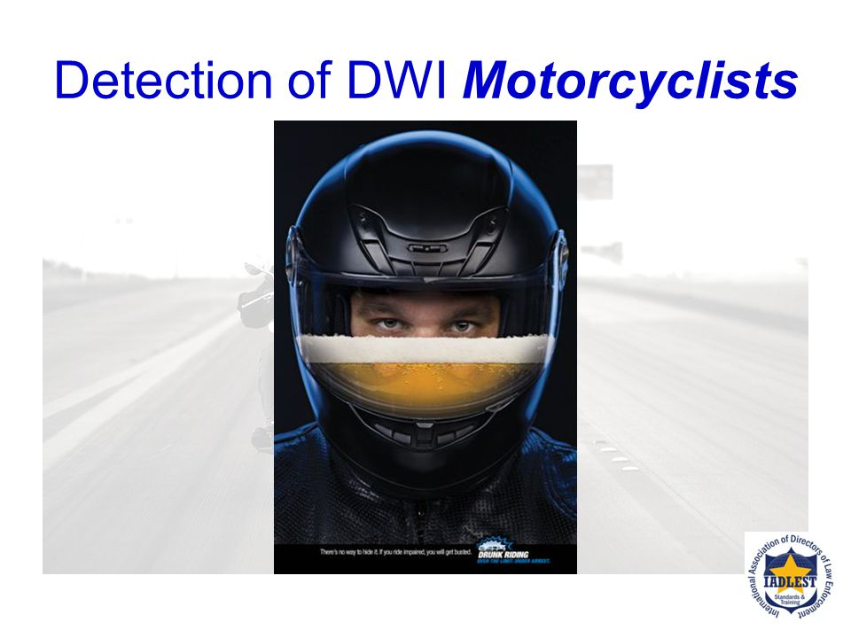 Detection of DWI Motorcyclists
