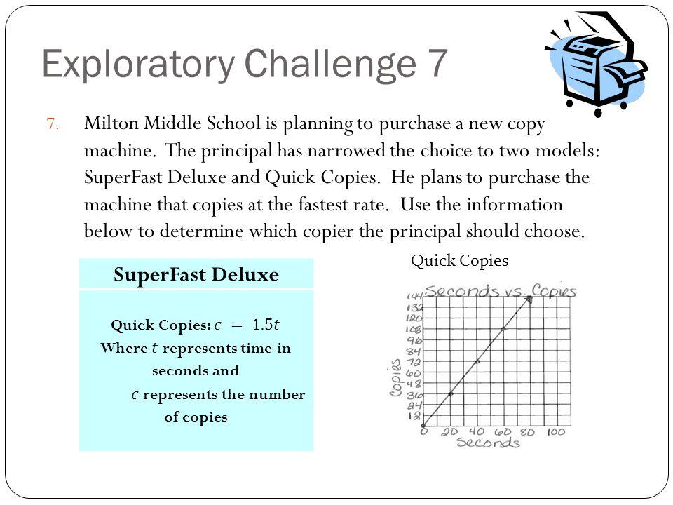Exploratory Challenge 7