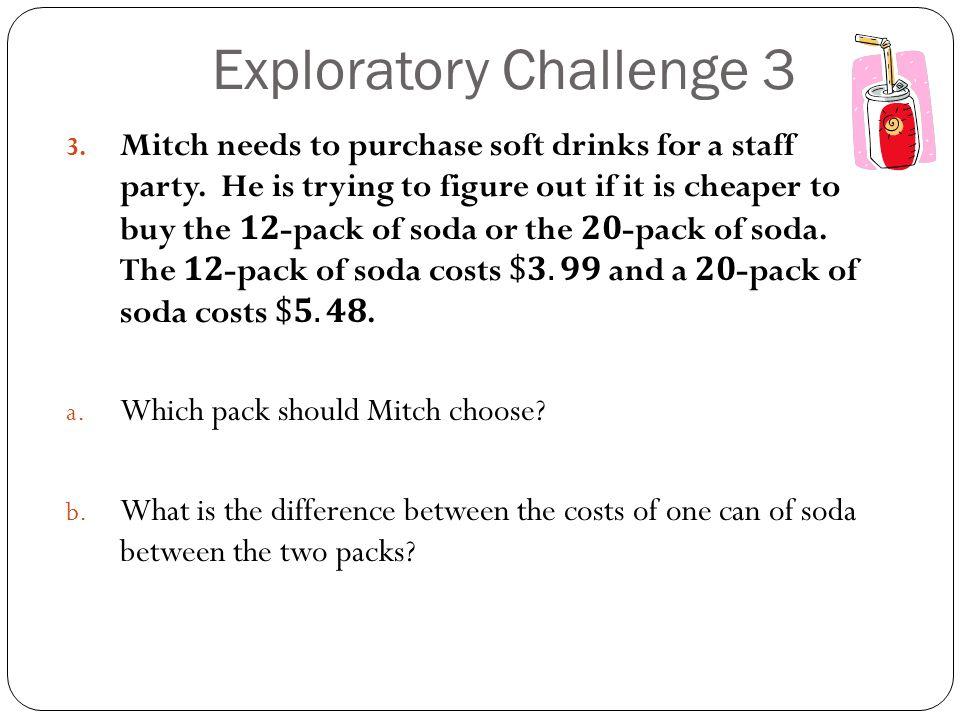 Exploratory Challenge 3