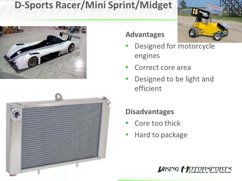 D-Sports Racer/Mini Sprint/Midget