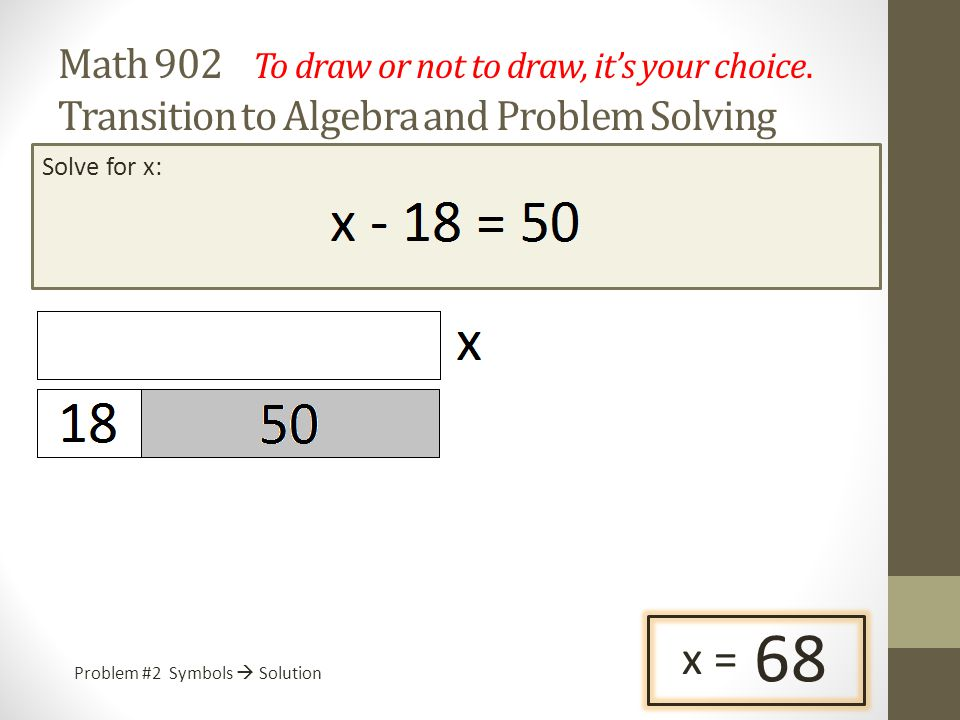 Math 902 To draw or not to draw, it's your choice