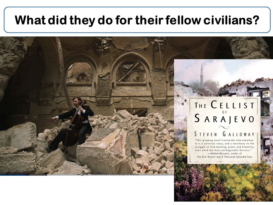What did they do for their fellow civilians