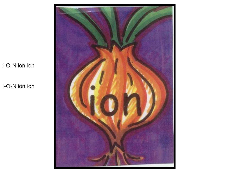 I-O-N ion ion