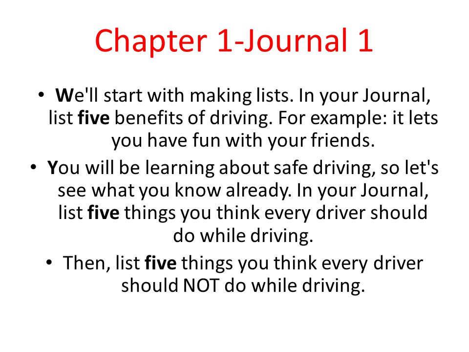 Chapter 1-Journal 1