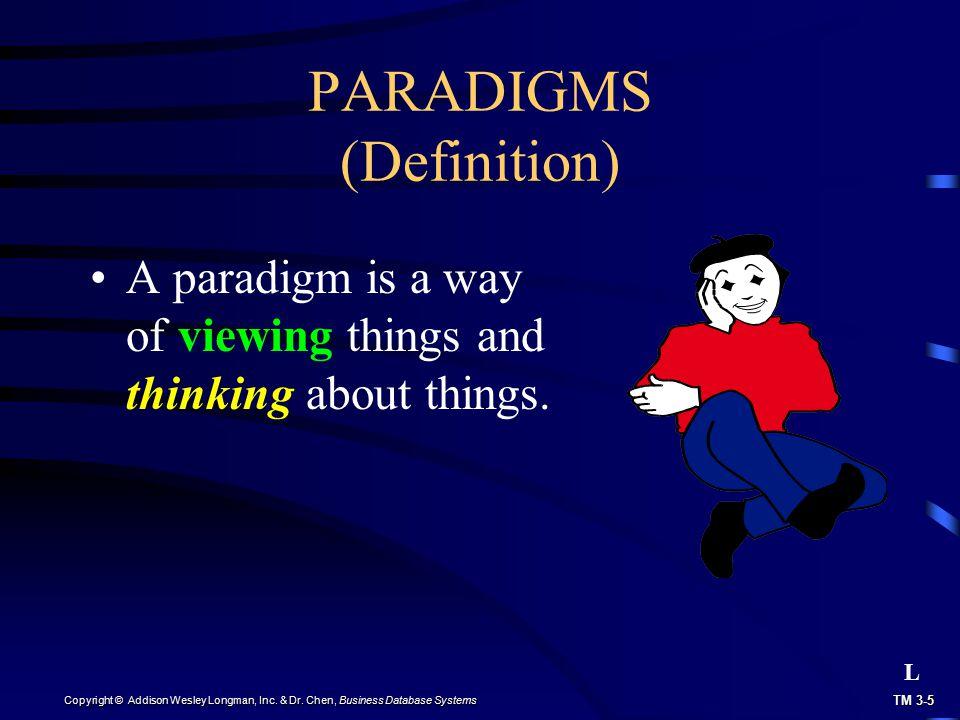 PARADIGMS (Definition)