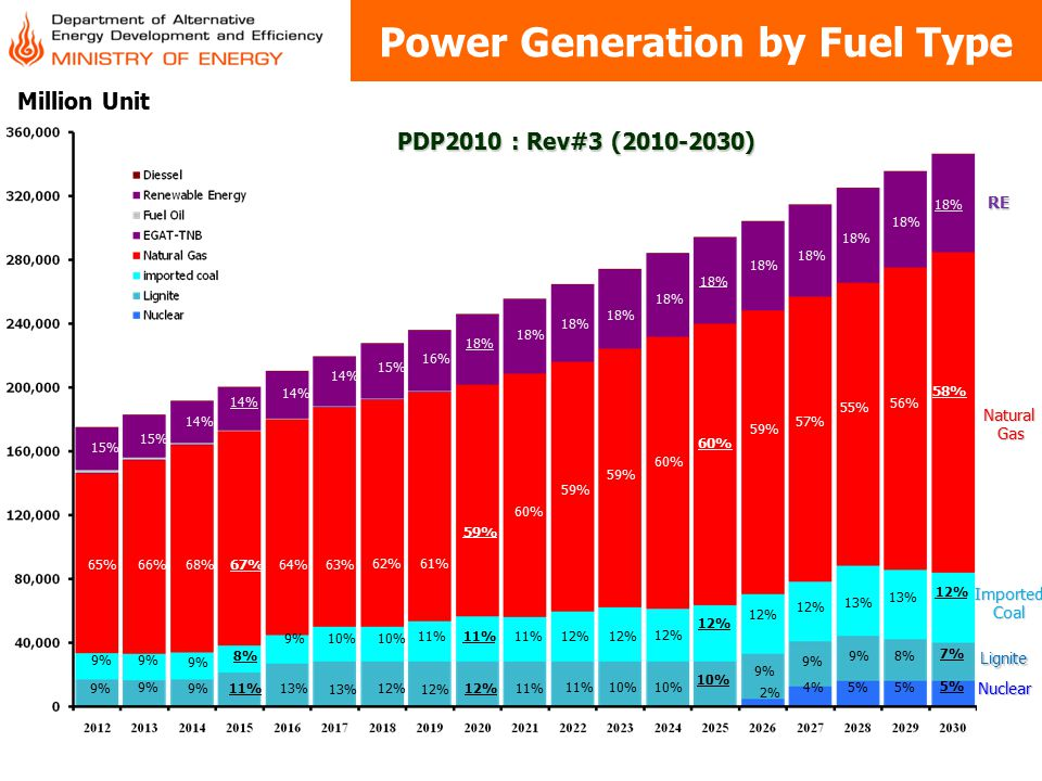 Power Generation by Fuel Type