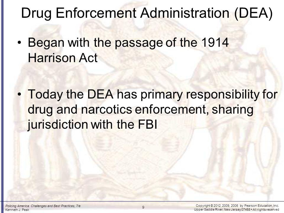 DEA Responsibilities
