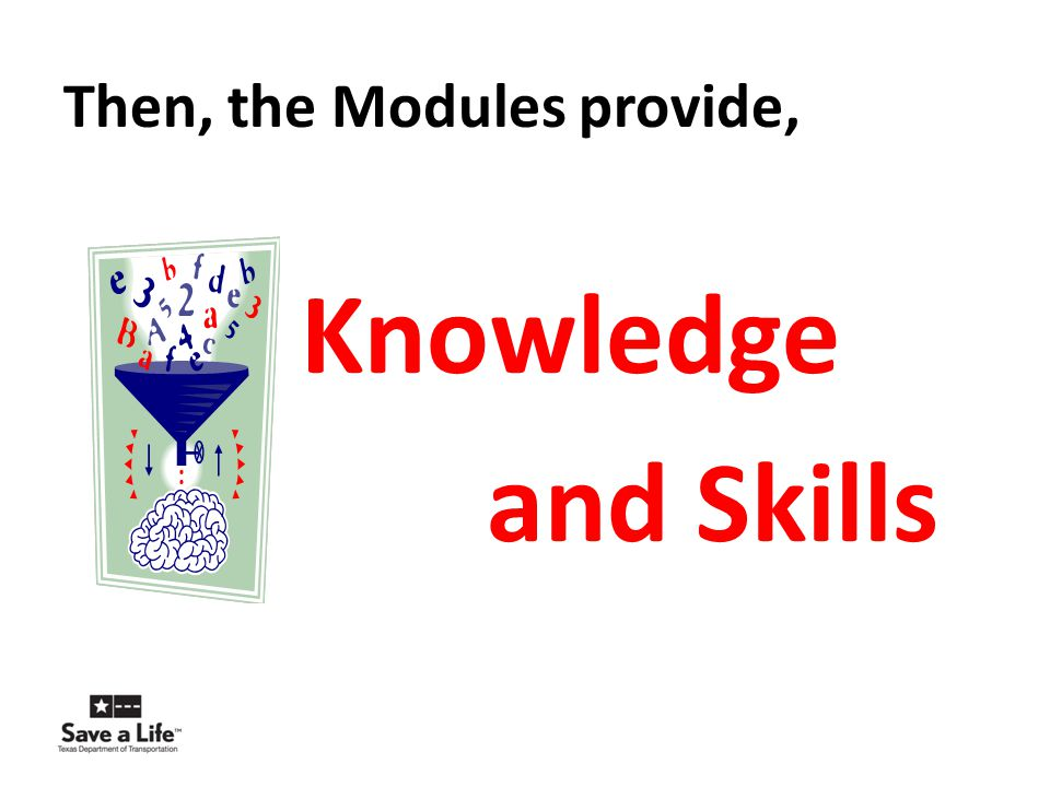 Then, the Modules provide,