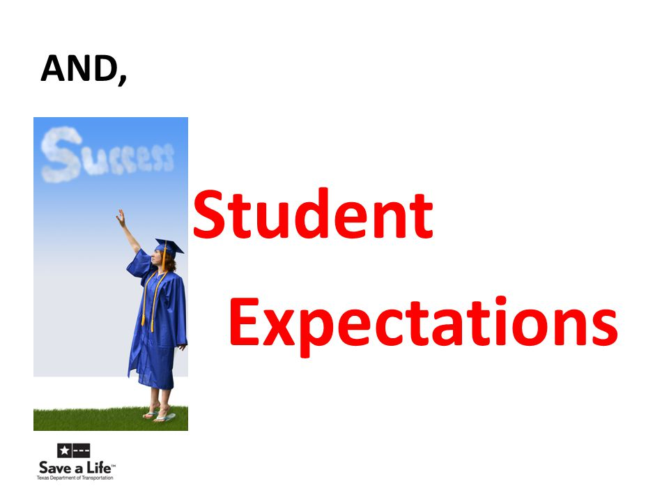 AND, Student Expectations