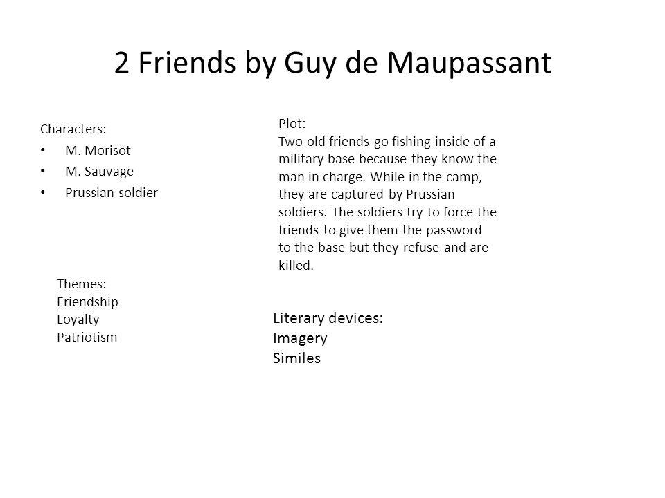 2 Friends by Guy de Maupassant