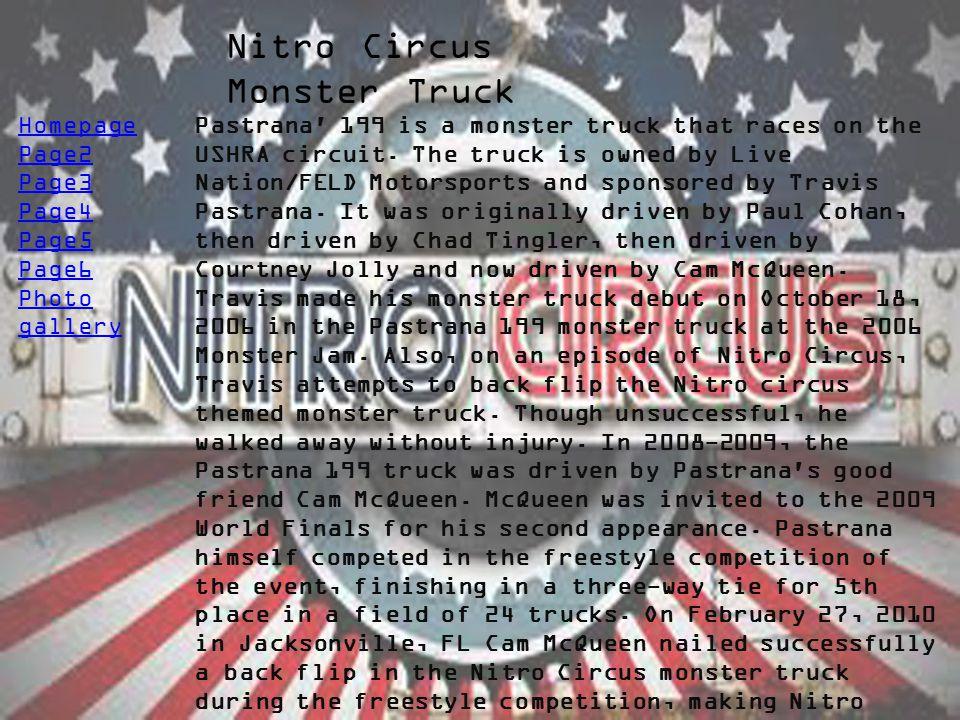 Nitro Circus Monster Truck