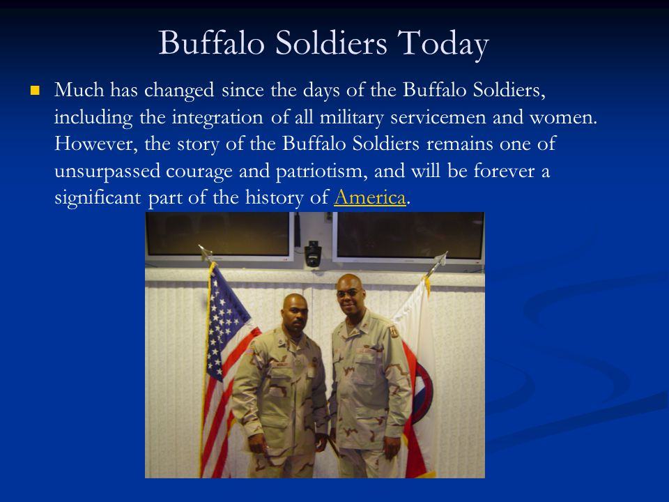 Buffalo Soldiers Today