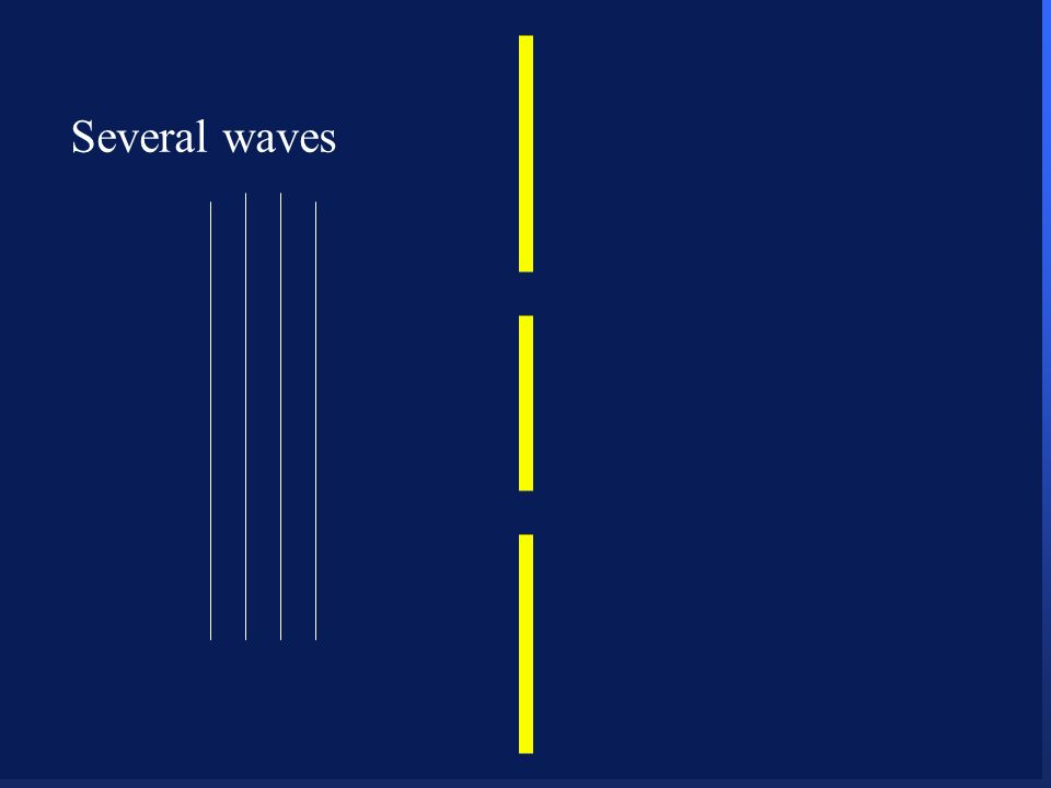 Several waves