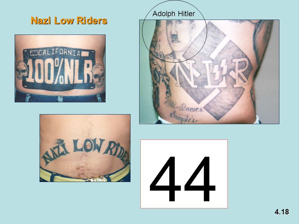 Adolph Hitler Nazi Low Riders 44 4.18