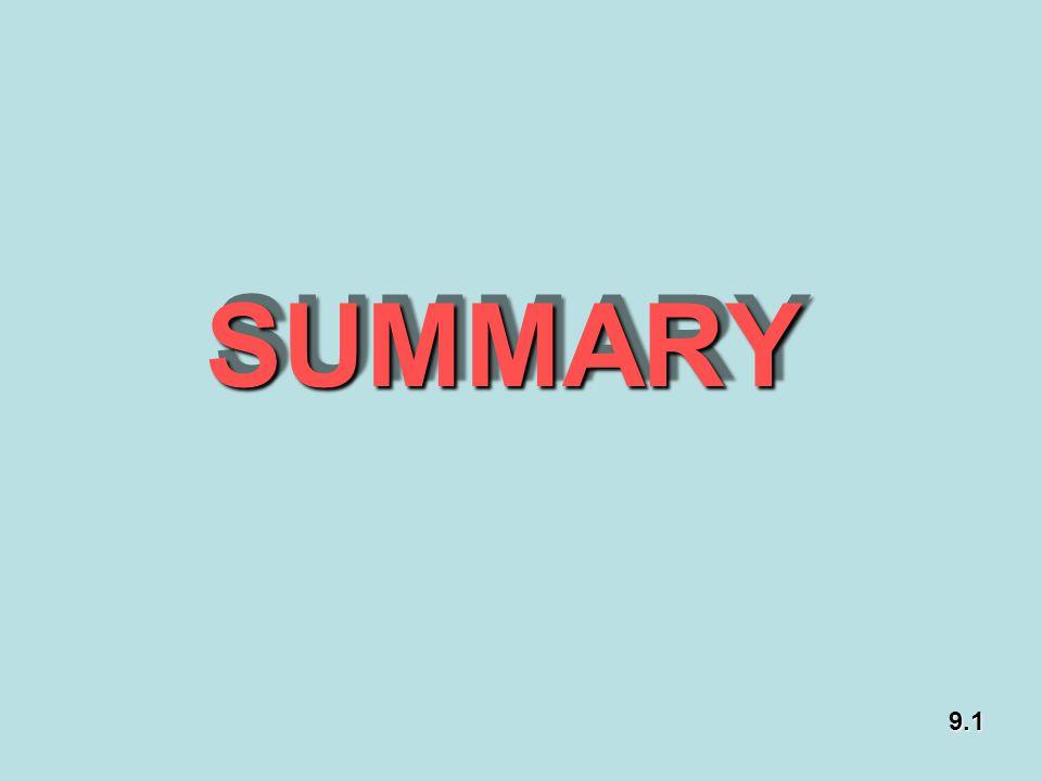 SUMMARY 9.1