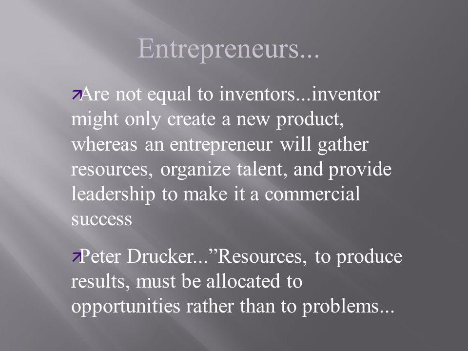 Entrepreneurs...