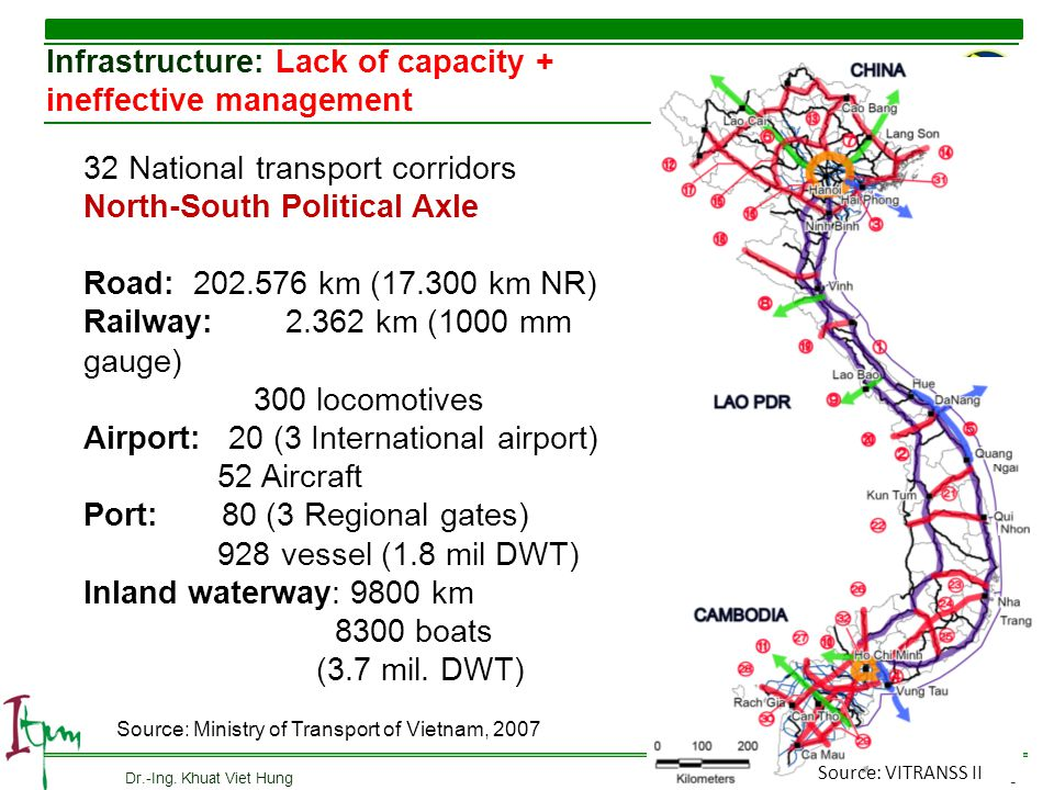 Infrastructure: Lack of capacity + ineffective management