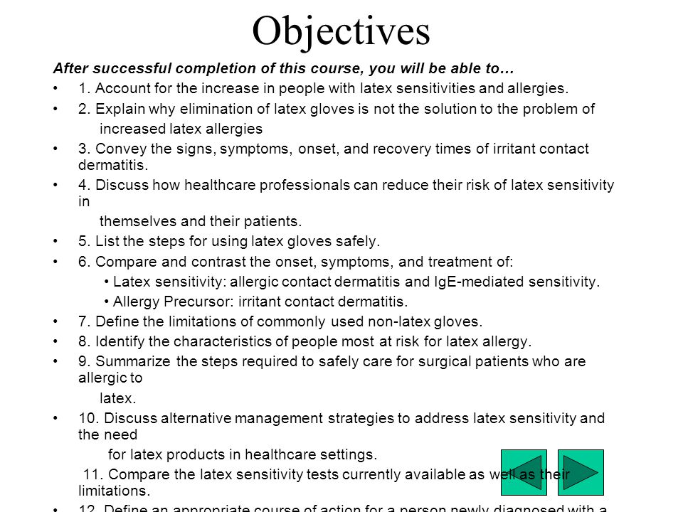 Objectives After successful completion of this course, you will be able to…